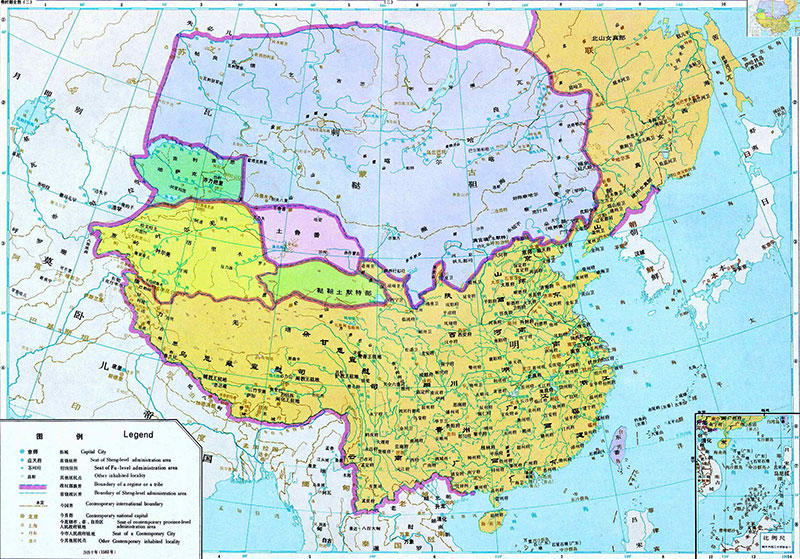 朝鲜半岛的百济就称臣纳贡图片